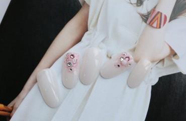 【マニキュア】キラキラブライダル