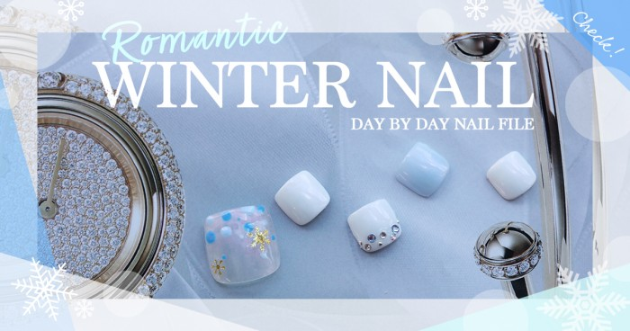 Romantic WINTER NAIL