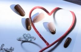 チョコフレンチネイル
