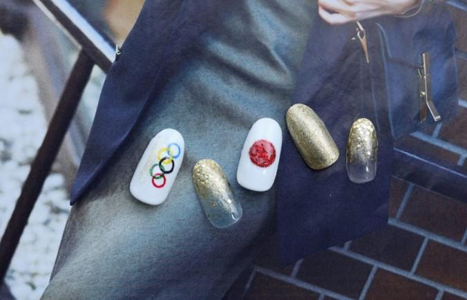 オリンピックネイル
