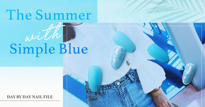 The Summer with Simple Blue