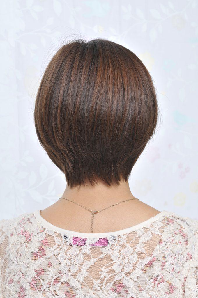 夏髪ショートボブ